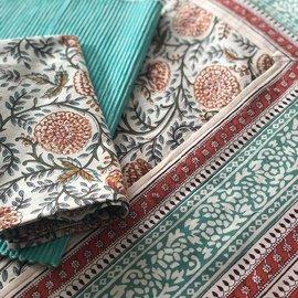 Mahogany USA Mahogany Vani Orange Tablecloth 60 in. x 90 in.