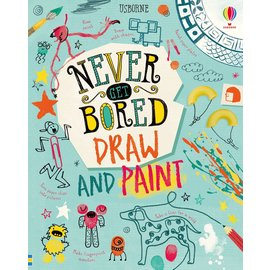 Usborne Usborne Never Get Bored Draw and Paint IR