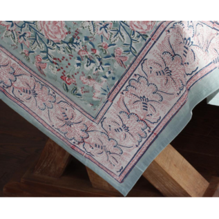 Mahogany USA Mahogany Gulab Mint Tablecloth 60 in. x 60 in.