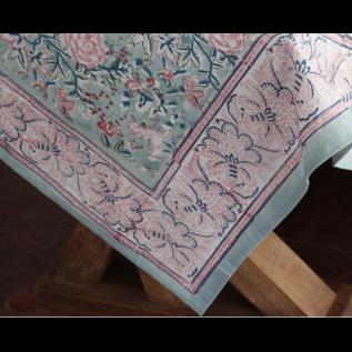 Mahogany USA Mahogany Gulab Mint Tablecloth 60 in x 90 in.