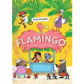 Usborne Kane Miller Hotel Flamingo Holiday Heat Wave