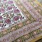 Mahogany USA Mahogany Roop Ivory Tablecloth 60 in. x 60 in.