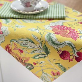 Mahogany USA Mahogany Bano Yellow Placemats 13 in. x 19 in. set of 4