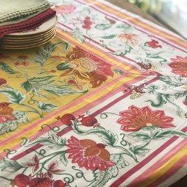 Mahogany USA Mahogany Bano Yellow Tablecloth 60 in. x 60 in.
