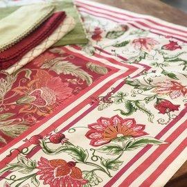 Mahogany USA Mahogany Bano Plum Tablecloth 60 in. x 60 in.