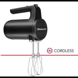 KitchenAid KitchenAid Cordless 7 Speed Hand Mixer Black Matte KHMB732BM