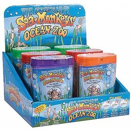 Schylling Schylling Sea Monkeys Ocean Zoo 6 pc Neon (Assorted)