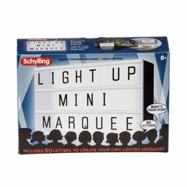 Schylling Schylling Light Up Mini Marquee
