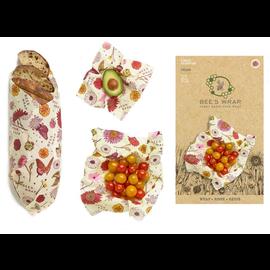 Bees Wrap Bee's Wrap ASSORTED 3 pack Vegan Meadow Magic