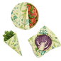 Bees Wrap Bee's Wrap ASSORTED 3 pack Vegan Herb Garden