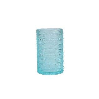 D&V Jupiter Pool Blue Ice Beverage Glass 13 oz