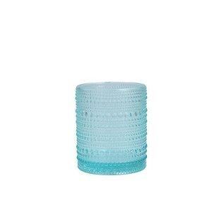 D&V Jupiter Pool Blue DOF Glass 10 oz