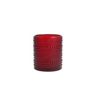 D&V Jupiter Red DOF Glass 10 oz