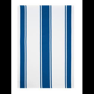 MUkitchen MUkitchen Dobby Cotton Towel Classic Stripe Blueberry