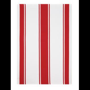 MUkitchen MUkitchen Dobby Cotton Towel Classic Stripe Crimson