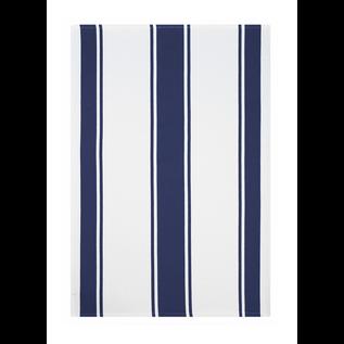 MUkitchen MUkitchen Dobby Cotton Towel Classic Stripe Ink Blue