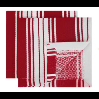 MUkitchen MUkitchen Power Net Scrub Cloth Crimson Set of 2
