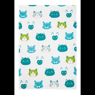 "MUkitchen MUkitchen Designer Cotton Towel 20"" x 30"" Cats"