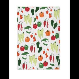 """MUkitchen MUkitchen Designer Cotton Towel 20"""" x 30"""" Peppers"""