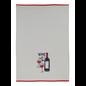 """MUkitchen MUkitchen Designer Cotton Towel 20"""" x 30"""" Wine Not"""