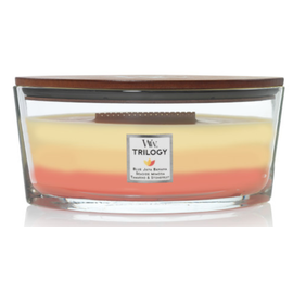 WoodWick Candle WoodWick Candle Ellipse Hearthwick Trilogy Tropical Sunrise