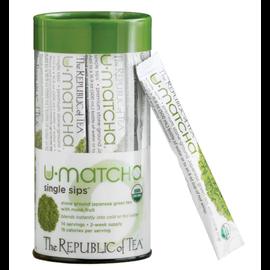 Republic of Tea The Republic of Tea Organic U-Matcha Single Sips 14ct