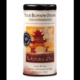 Republic of Tea The Republic of Tea Peach Blossom Oolong Tea Round Bags 36 Serving Tin