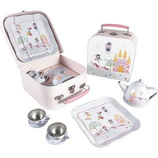 Floss & Rock Floss & Rock Fairy Unicorn Tin Tea Set in Case