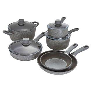 Ballarini Ballarini Parma Plus Aluminum Nonstick 10 pc Cookware Set