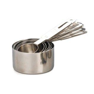 RSVP RSVP Endurance Stainless Steel Measuring Cups Set of 7