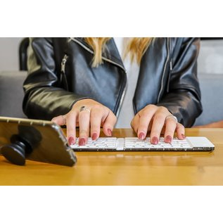Fashionit Fashionit TYPE Wireless Keyboard Black Marble