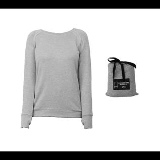 DM Merchandising Inc DM Merchandising Hello Mello Weekender Top Gray XL DISCONTINUED