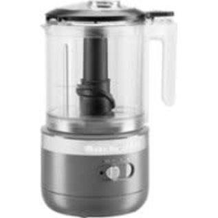KitchenAid KitchenAid Cordless 5 Cup Food Chopper Charcoal Grey KFCB519DG