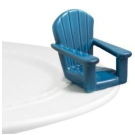 Nora Fleming Nora Fleming Mini Chillin' Chair blue adirondack