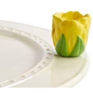 Nora Fleming Nora Fleming Mini Tiptoe Thru 'Em yellow tulip