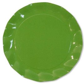 Sophistiplate Sophistiplate Petalo Charger Plates Green Meadow DISCONTINUED