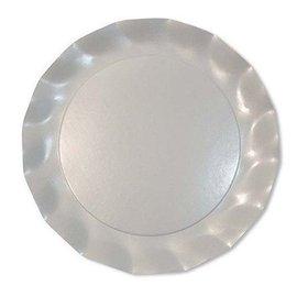 Sophistiplate Sophistiplate Petalo Salad/Dessert Plates Pearly White