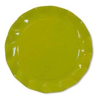 Sophistiplate Sophistiplate Petalo Salad/Dessert Plates Lime Green DISCONTINUED