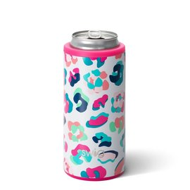Swig Swig Skinny Can Cooler 12 oz Party Animal