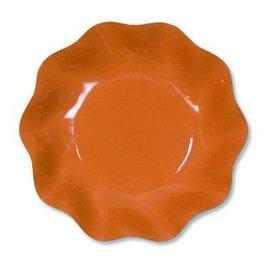 Sophistiplate Sophistiplate Petalo Appetizer/Dessert Bowls Orange DISCONTINUED