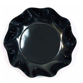 Sophistiplate Sophistiplate Petalo Appetizer/Dessert Bowls Black DISCONTINUED