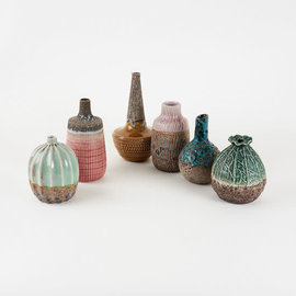 One Hundred 80 Degrees One Hundred 80 Degrees Stoneware Vase Assorted Sold Individually