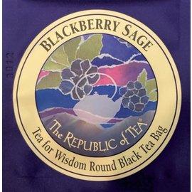 Republic of Tea The Republic of Tea Overwrap Blackberry Sage Tea Bag single