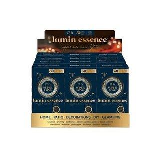 DM Merchandising Inc DM Merchandising Lumin Essence Copper Wire Mini Lights 17 ft
