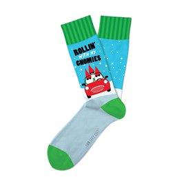 DM Merchandising Inc DM Merchandising Rollin' With My Gnomies Socks M/L
