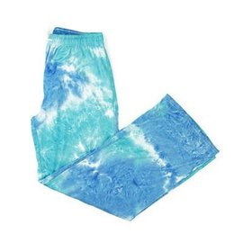 DM Merchandising Inc DM Merchandising Hello Mello Dye's the Limit Lounge Pant Aqua L/XL