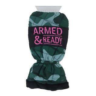 DM Merchandising Inc DM Merchandising Snow Fricken' Way! Mitten Ice Scraper Armed + Ready