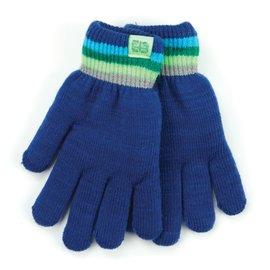 DM Merchandising Inc DM Merchandising Britt's Knits Kid's Play All Day Fuzzy-Lined Gloves Navy