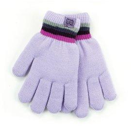DM Merchandising Inc DM Merchandising Britt's Knits Kid's Play All Day Fuzzy-Lined Gloves Lavender
