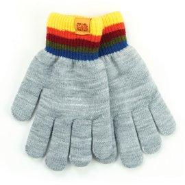 DM Merchandising Inc DM Merchandising Britt's Knits Kid's Play All Day Fuzzy-Lined Gloves Gray